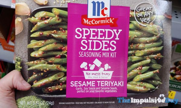 McCormick Sesame Teriyaki Speedy Sides Seasoning Mix Kit