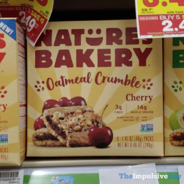 Nature s Bakery Cherry Oatmeal Crumble