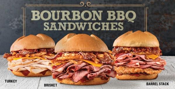 News Arby s Bourbon BBQ Barrel Stack