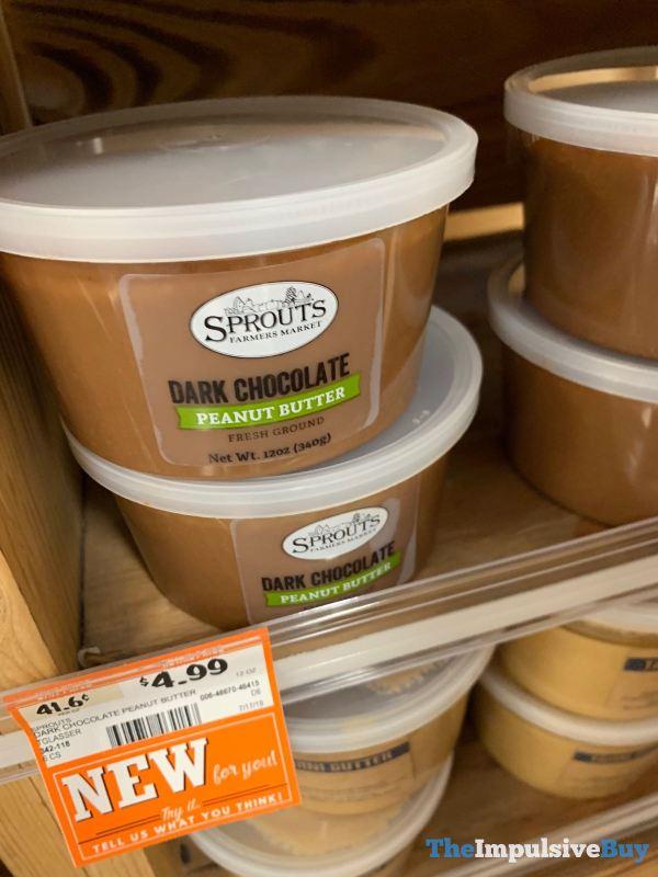 Sprouts Fresh Ground Dark Chocolate Peanut Butter