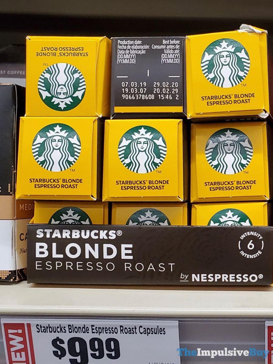 Starbucks Blonde Espresso Roast Nespresso Capsules Jpg The