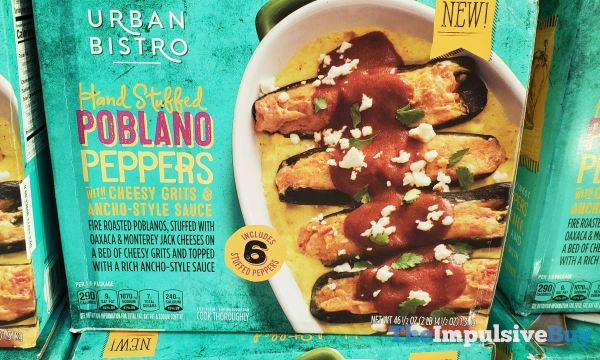 Stouffer s Urban Bistro Hand Stuffed Poblano Peppers