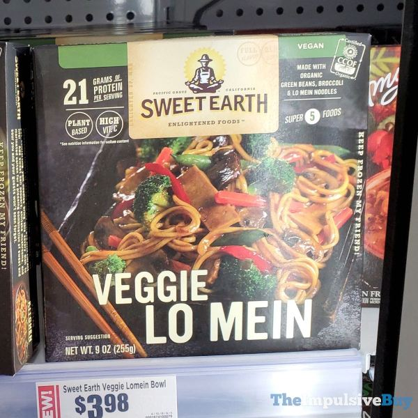 Sweet Earth Veggie Lo Mein
