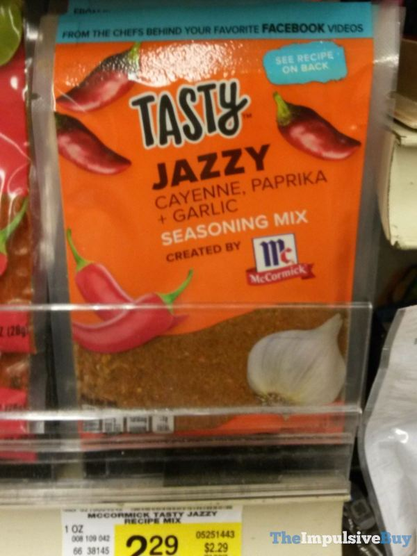 Tasty Jazzy Cayenne, Paprika + Garlic Seasoning Mix by McCormick
