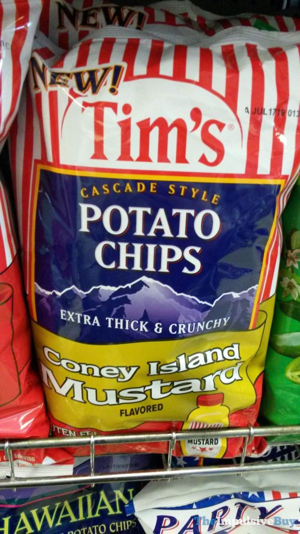 Tim s Cascade Style Coney Island Mustard Potato Chips