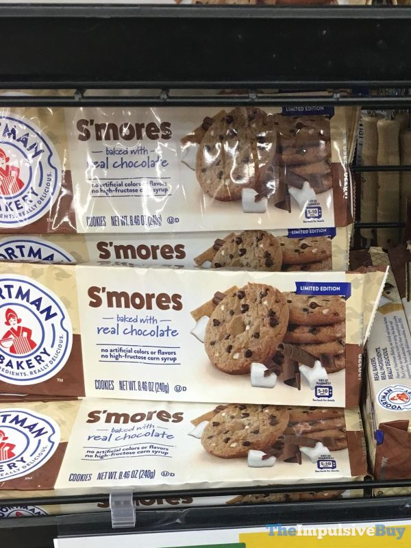 Voortman Bakery Limited Edition S mores Cookies