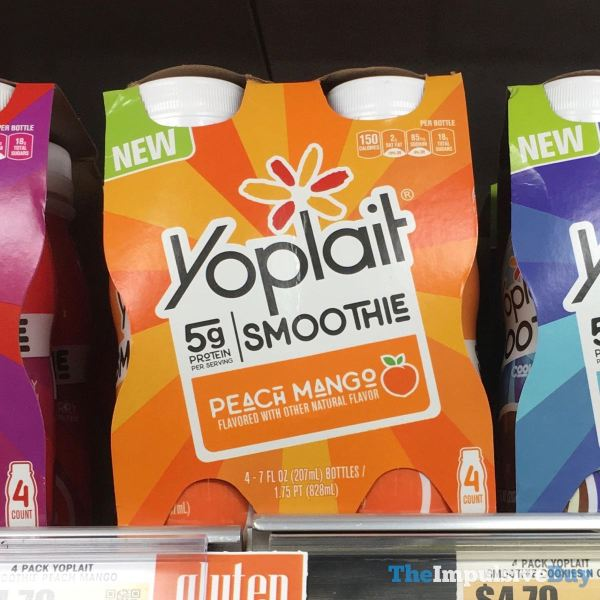 Yoplait Smoothie Peach Mango