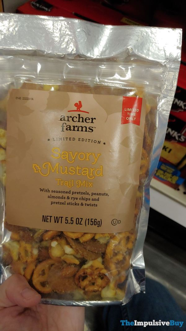 Archer Farms Limited Edition Savory Mustard Trail Mix