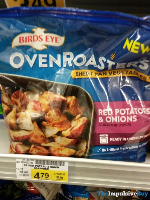 Birds Eye Oven Roasters Sheet Pan Vegetables Red Potatoes  Onions