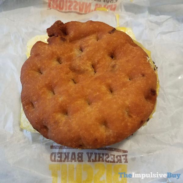 Burger King Maple Waffle Sandwich Top