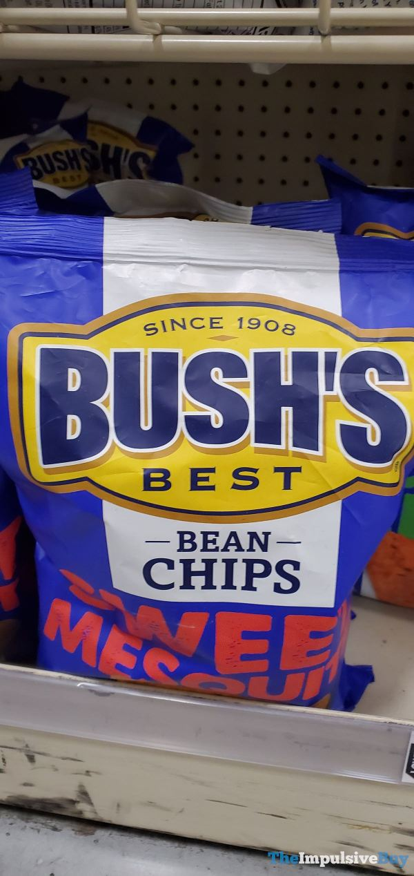 Bush s Beast Sweet Mesquite Bean Chips