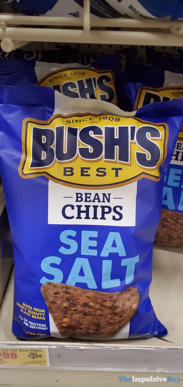 Bush s Best Sea Salt Bean Chips