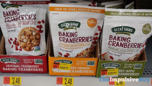 Decas Farms Baking Cranberries Baker s Cut  Cranberry Cranberry Orange and Cranberry Apple