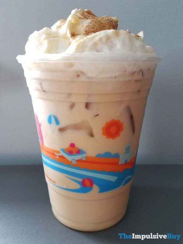 Dunkin Cinnamon Sugar Pumpkin Signature Latte