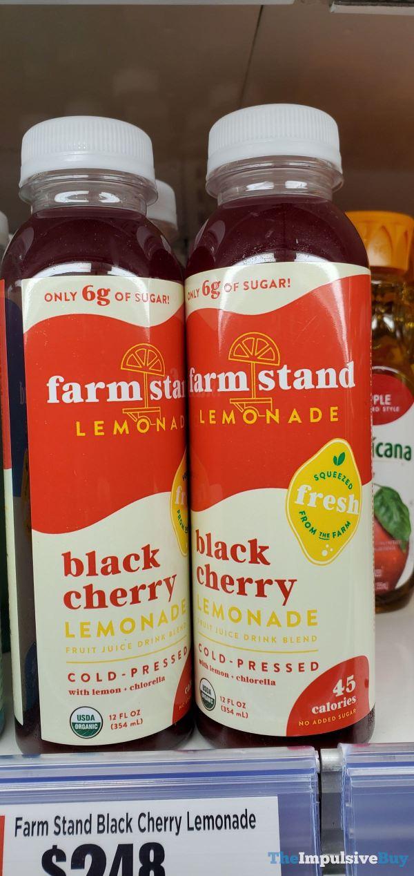 Farm Stand Black Cherry Lemonade
