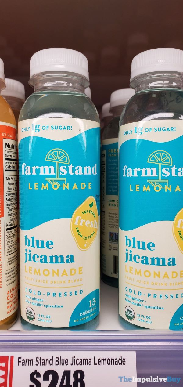 Farm Stand Blue Jicama Lemonade