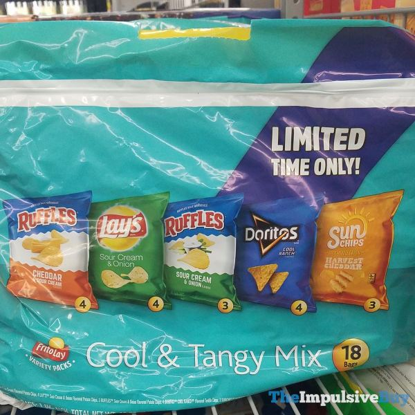 Frito Lay Cool  Tangy Mix
