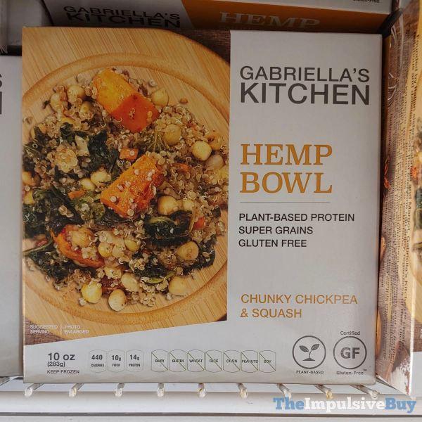 Gabriella s Kitchen Hemp Bowl Chunky Chickpea  Squash