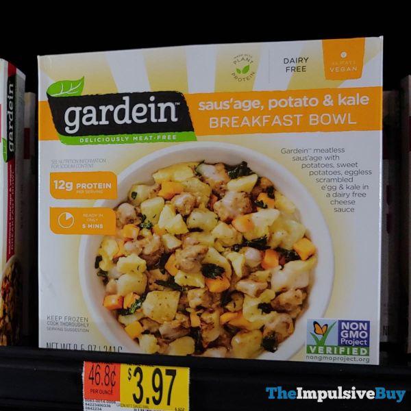 Gardein Saus age Potato  Kale Breakfast Bowl