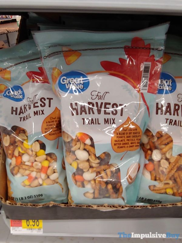 Great Value Fall Harvest Trail Mix