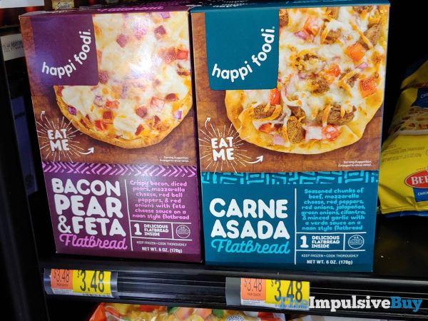 Happi Foodi Bacon Pear  Feta Flatbread and Carne Asada Flatbread