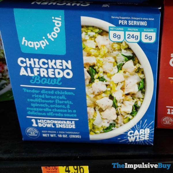 Happi Foodi Chicken Alfredo Bowl