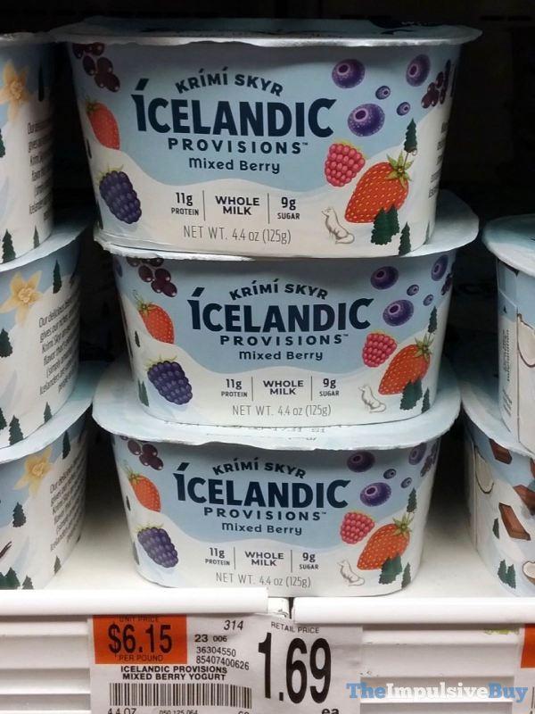 Icelandic Provisions Mixed Berry Krimi Skyr Yogurt