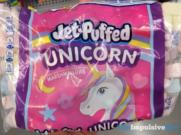 Jet Puffed Unicorn Marshmallows