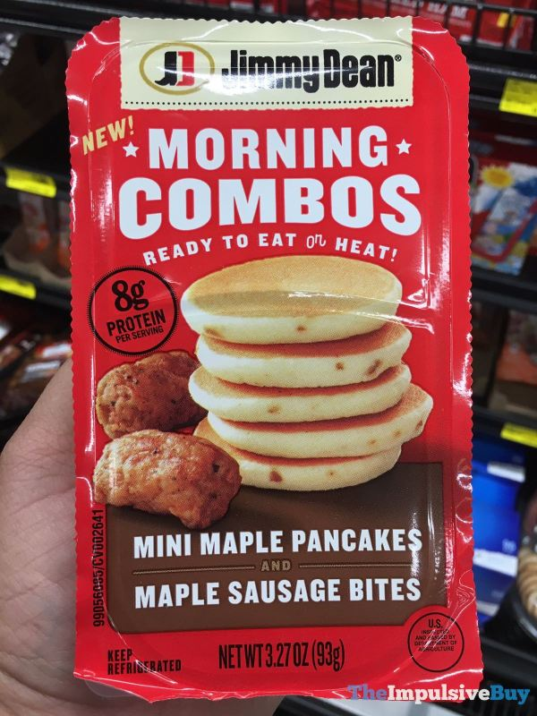 Jimmy Dean Morning Combos Mini Maple Pancakes and Maple Sausage Bites
