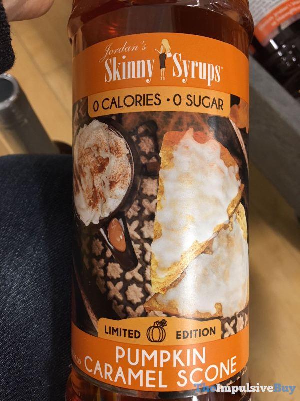 Jordan s Skinny Syrups Limited Edition Pumpkin Caramel Scone