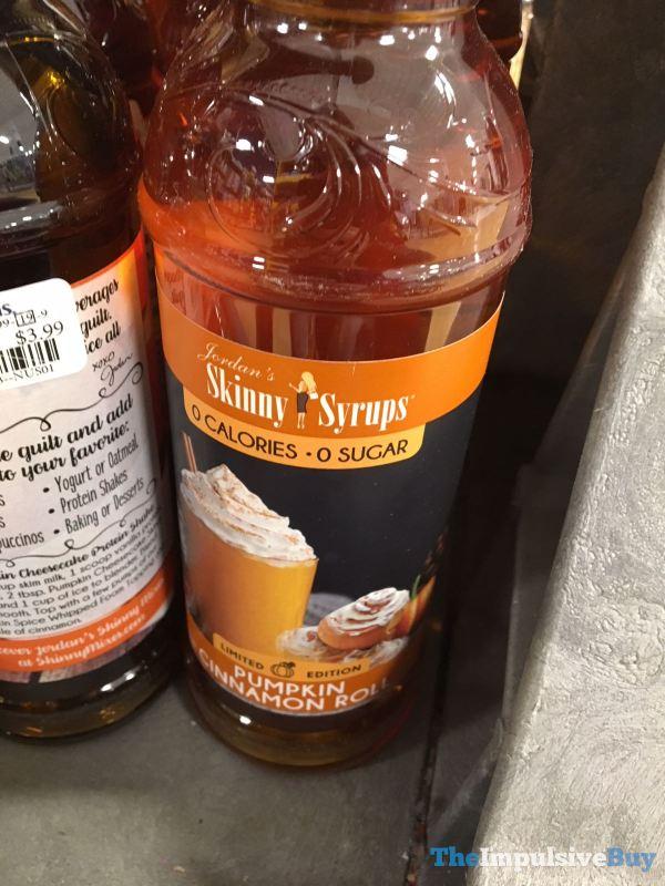 Jordan s Skinny Syrups Limited Edition Pumpkin Cinnamon Roll