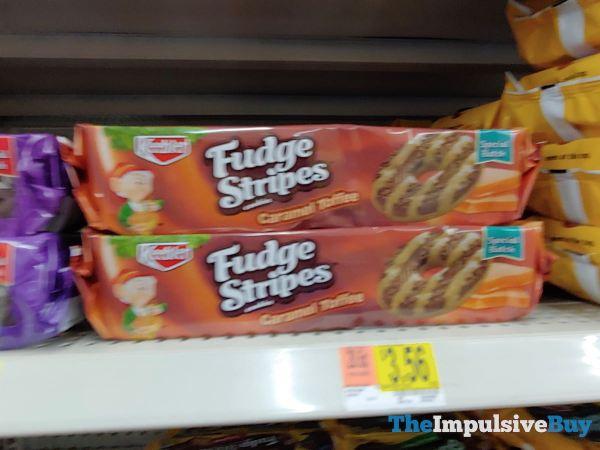 Keebler Special Batch Caramel Toffee Fudge Stripes