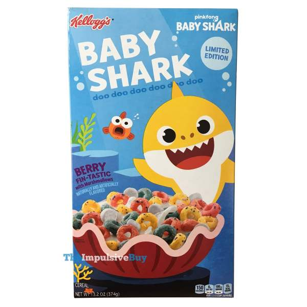 Kellogg s Limited Edition Baby Shark Cereal