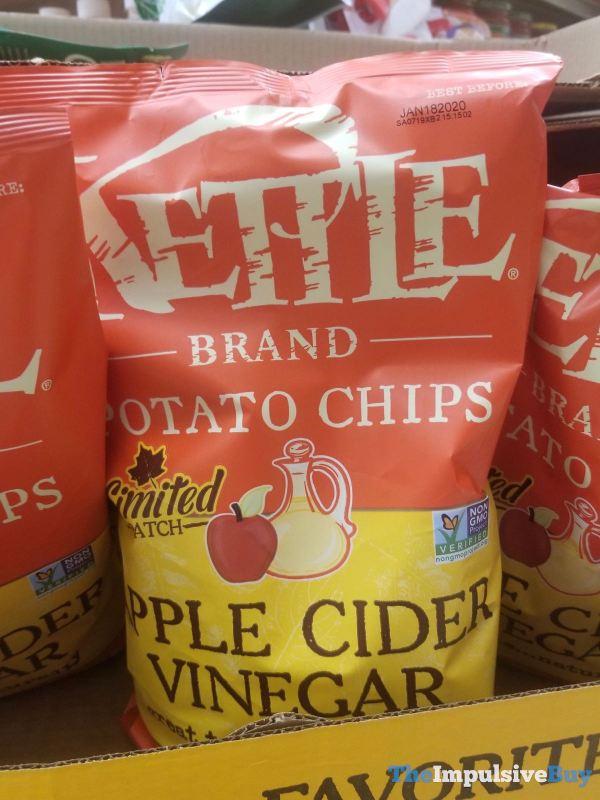 Kettle Brand Limited Batch Apple Cider Vinegar Potato Chips
