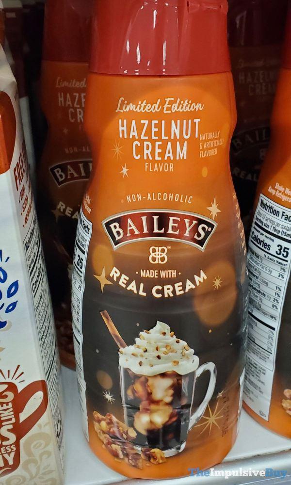 Limited Edition Baileys Hazelnut Cream Creamer