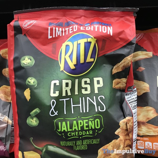 Limited Edition Jalapeno Cheddar Ritz Crisp  Thins