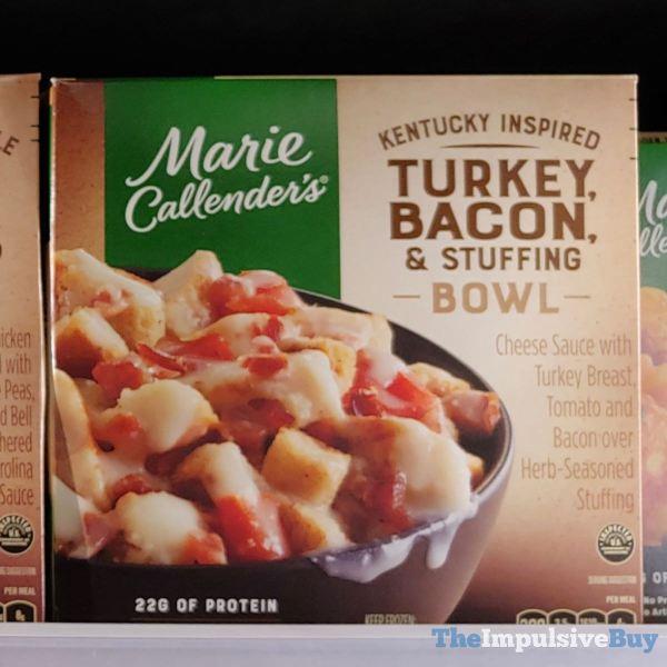 Marie Callender s Kentucky Inspired Turkey Bacon  Stuffing Bowl