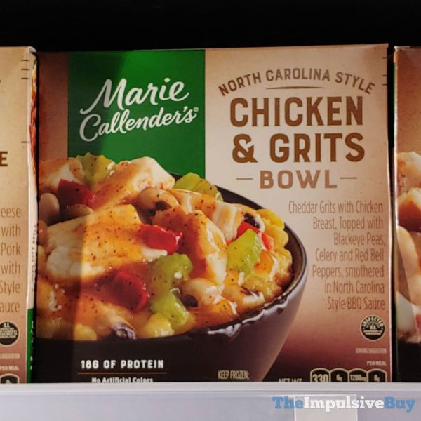 Marie Callender s North Carolina Style Chicken  Grits Bowl