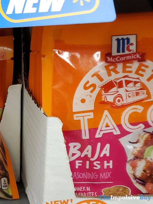 McCormick Street Taco Baja Fish Seasoning Mix