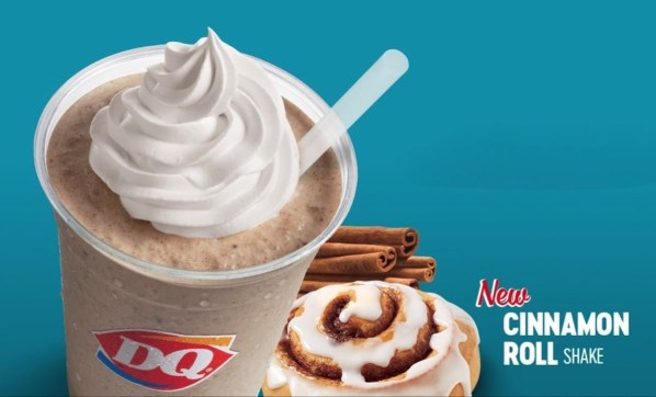 News DQ Cinnamon Roll Shake