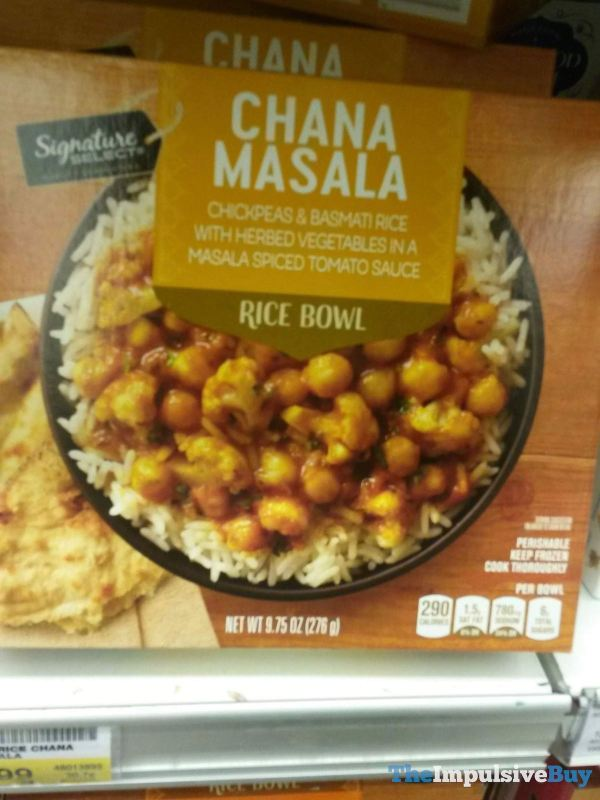 Signature Select Chana Masala Rice Bowl