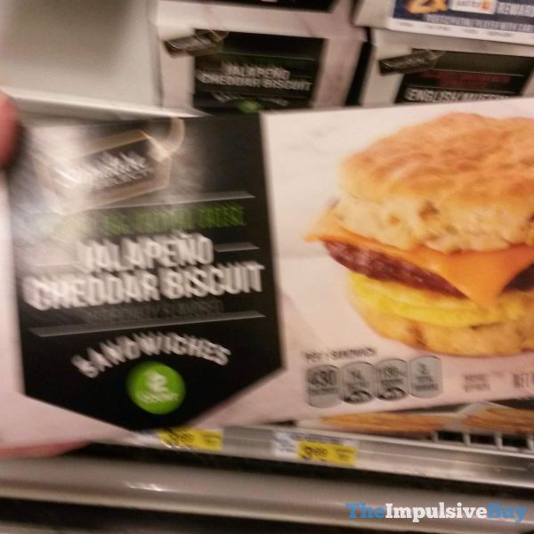 Signature Select Jalapeno Cheddar Biscuit Sandwiches