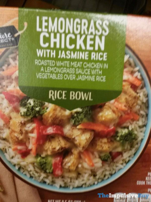 Signature Select Lemongrass Chicken with Jasmine Rice Rice Bowl