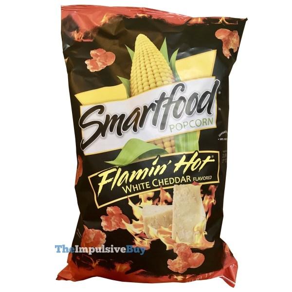 Smartfood Flamin Hot White Cheddar Popcorn