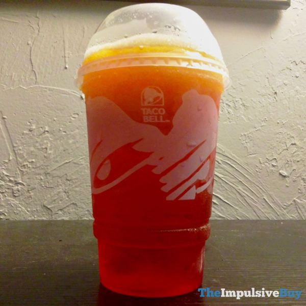 Taco Bell Cherry Sunset Freeze