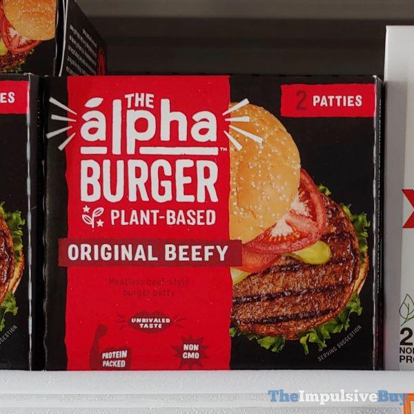The Alpha Burger Original Beefy