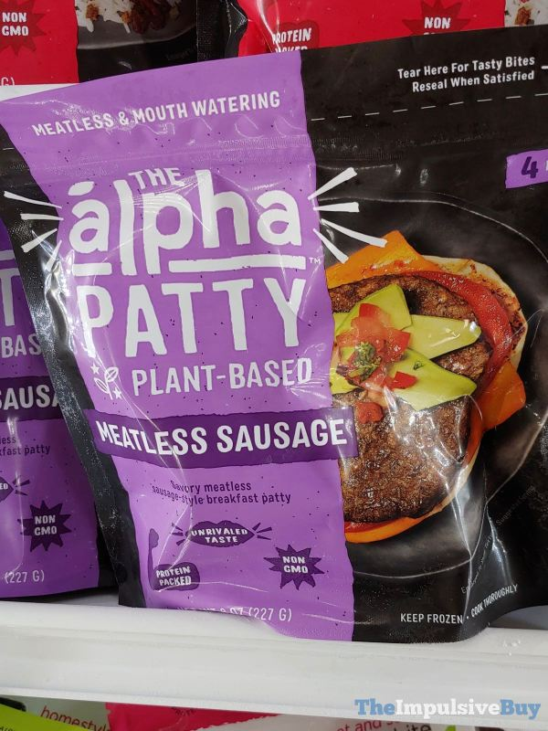 The Alpha Patty Meatless Sausage