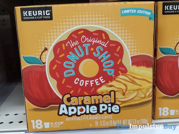 The Original Donut Shop Coffee Limited Edition Caramel Apple Pie K Cups