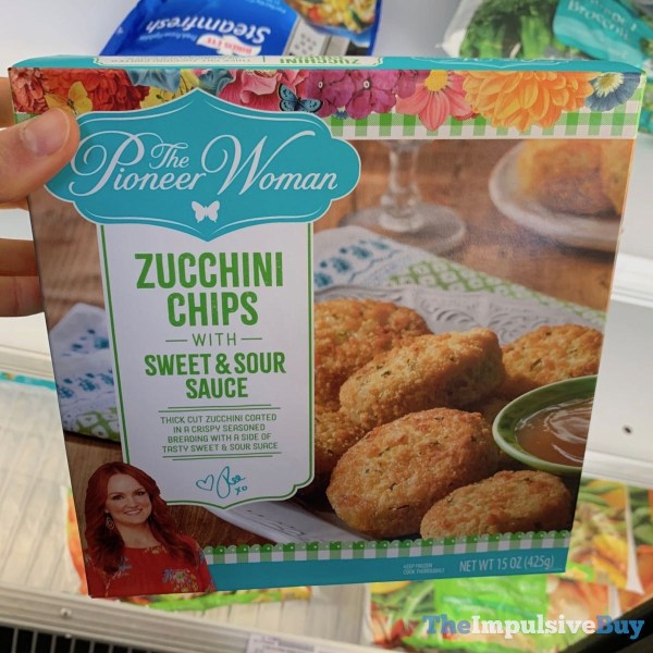The Pioneer Woman Zucchini Chips with Sweet  Sour Sauce