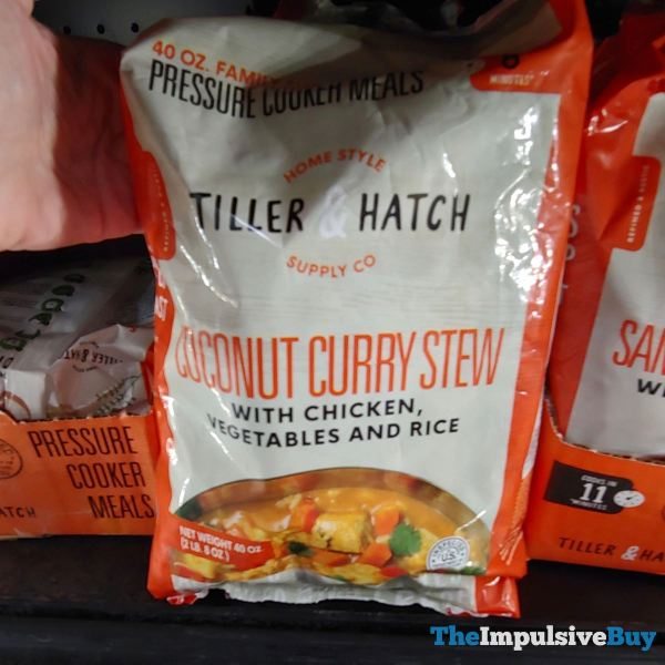 Tiller  Hatch Coconut Curry Stew Pressure Cooker Meal